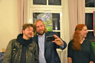 Marktgemeinderat Matthias Reimers mit Anton Hofreiter MdB