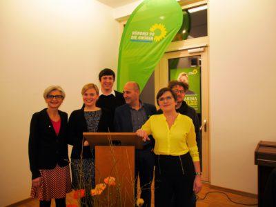Unser grüner Ortsverband mit Katharina Schulze | Foto: Christian Wolf