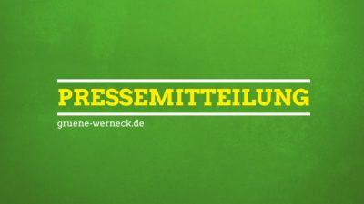 Pressemitteilung | BÜNDNIS 90/DIE GRÜNEN Werneck