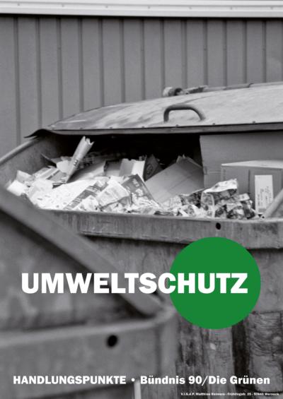 Umweltschutz | BÜNDNIS 90/DIE GRÜNEN Werneck