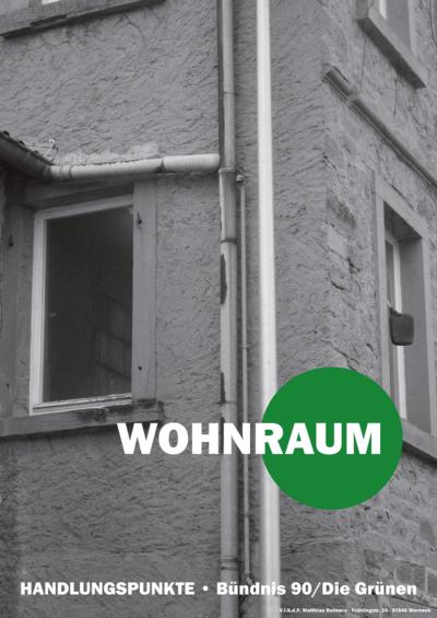 Wohnraum | BÜNDNIS 90/DIE GRÜNEN Werneck