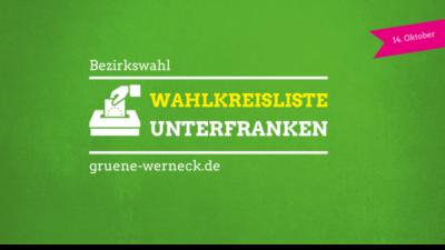 Wahlkreisliste Unterfranken | Bezirkswahl 2018