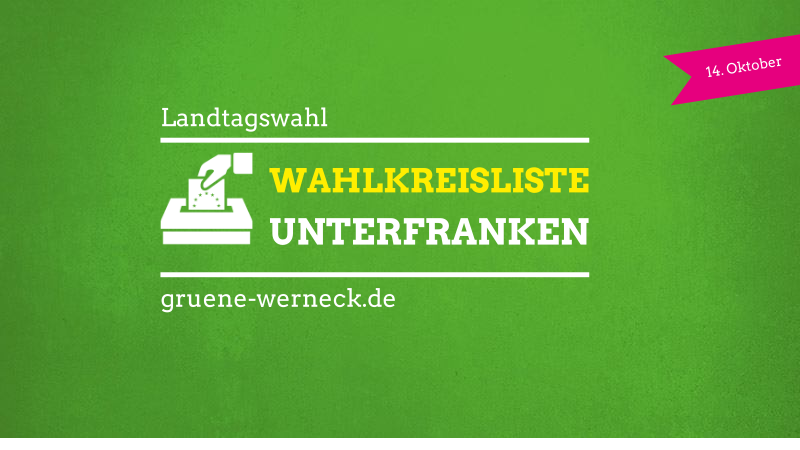 Wahlkreisliste Unterfranken | Landtagswahl 2018