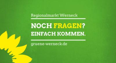 Wahlstand am Regionalmarkt