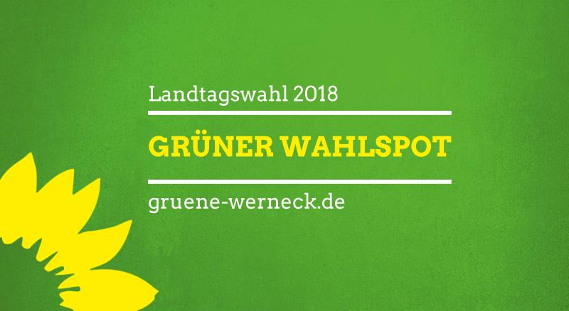 Grüner Wahlspot zur Landtagswahl Bayern 2018