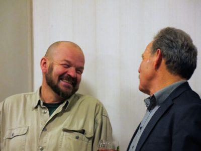 Kreisrat Udo Rumpel mit MdL Paul Knoblach