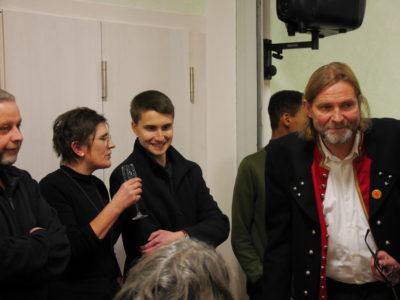 Kreisrätin Birgit Schmitt mit Thomas Vollmuth