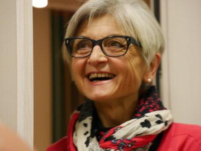 Unsere Ortsvorsitzende Roswitha Ziegler