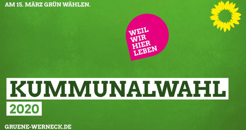 Kummunalwahl 2020 - Am 15. März grün wählen!