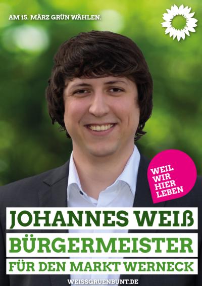 Bürgermeisterkandidat Johannes Weiß