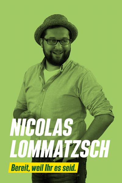 Nicolas Lommatzsch | BÜNDNIS 90/DIE GRÜNEN